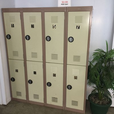 Lockers for hire