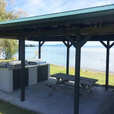 Lakeside BBQ Area